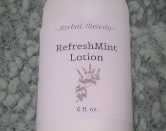 RefreshMint Body Lotion