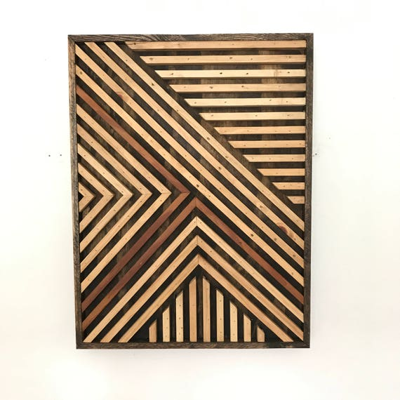 Wood Wall Art Large Wood Wall Art Abstract Wood Wall | Etsy