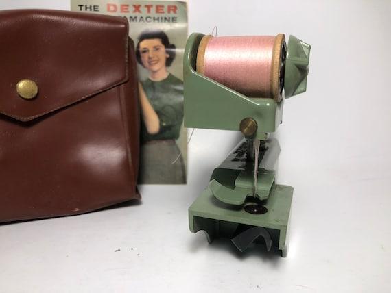 Vintage Dexter Handheld Sewing Machine Etsy Interesting Dexter Hand Held Sewing Machine