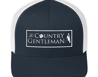 4e770321 The Country Gentleman Mesh Snap-back Trucker Hat
