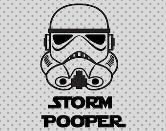 Star wars svg, Storm pooper svg, Storm pooper, Star wars cricut, Storm trooper svg, Storm pooper cricut, Storm trooper cricut, Star wars cut
