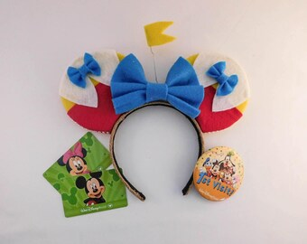 Tweedledee and Tweedledum Inspired Ears