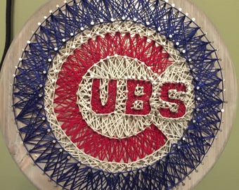 Chicago Cubs String Art!!!