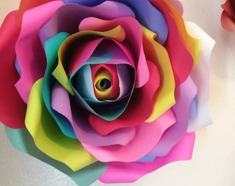 Assorted paper flowers
