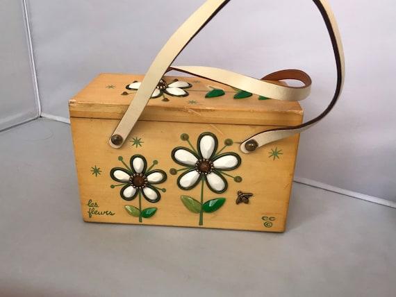 Les Fleurs Enid Collins Box Bag