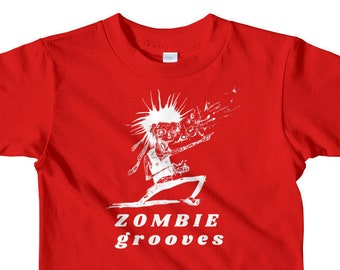Goth Kids Clothing - 'Zombie grooves'