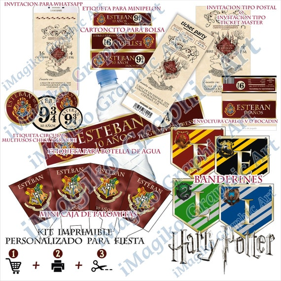 photograph about Harry Potter Decorations Printable titled HARRY POTTER impressed Marauders Map Hogwarts Printable package