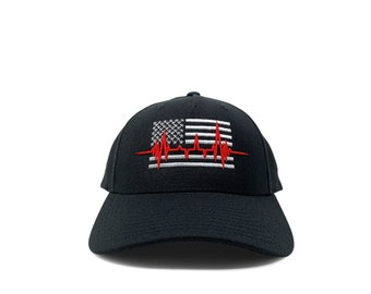 Nurse American flag with 3D pulse / customizable