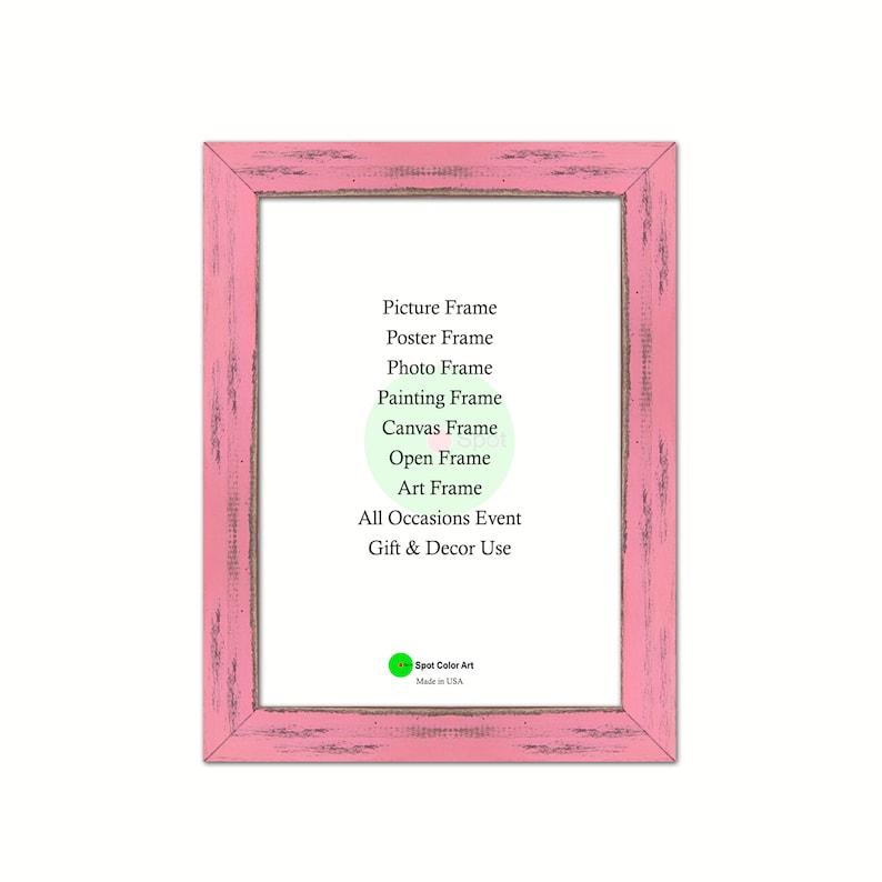 Baby Pink 20 x 24 Size Wholesale Bulk Lots Bundle Wood Frames Good for Photo Picture Photo Poster Wedding Art Prints Home Decor