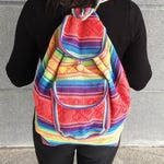 Mexican Multicolor Baja Backpack