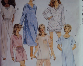 Night shirt pattern  88ee7fac7