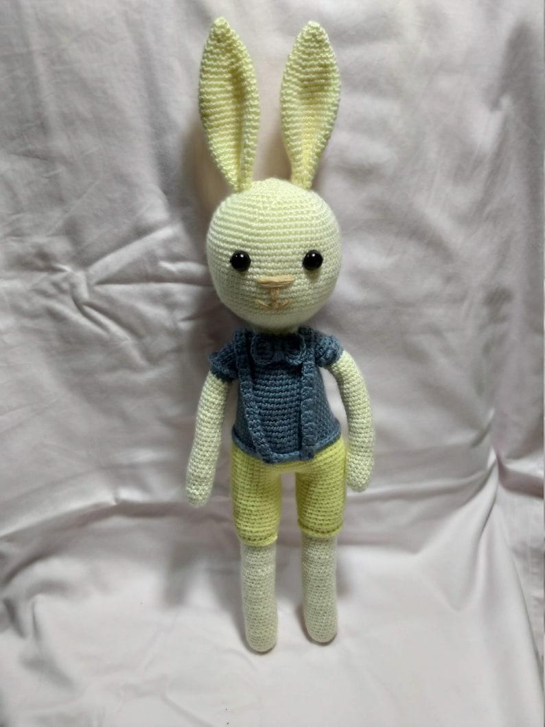 Crochet Rabbit Baby Newborn Gift,Amigurumi Animal,healthy Toys,Rabbit toys Rabbit Toy Amigurumi Bunny Stuffed Animals/& Plush Bunny Toys