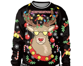 ugly christmas sweater unisex funny christmas jumper woman christmas jumper men ugly christmas sweaters ugly christmas jumper woman - Ugly Christmas Sweater Door Decoration Ideas
