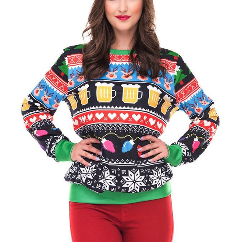 Christmas Sweaters For Men.Ugly Christmas Sweater Couples Christmas Sweater Men Matching Christmas Sweater Funny Christmas Jumper Men Christmas Party
