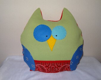 Plush OWL cushion and Pajama bag