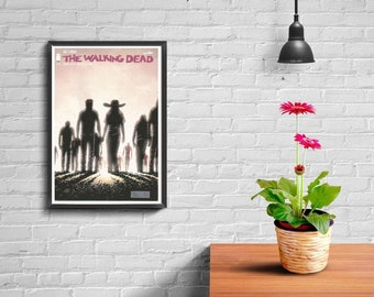 WALKING DEAD #143, New, Image Comic,  Plus a A4 print of the cover of the comic.