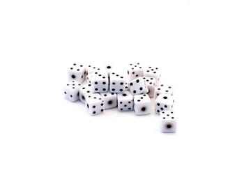 Set of 10 resin dice