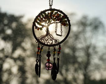 Swing in Tree Necklace