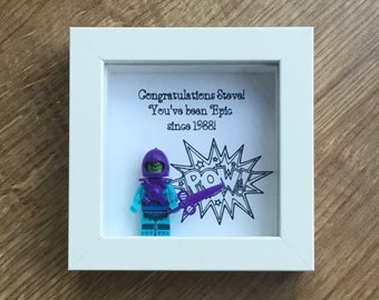 Skeletor Epic Birthday Gift For Him Frame Friend Personalised Colleague Custom