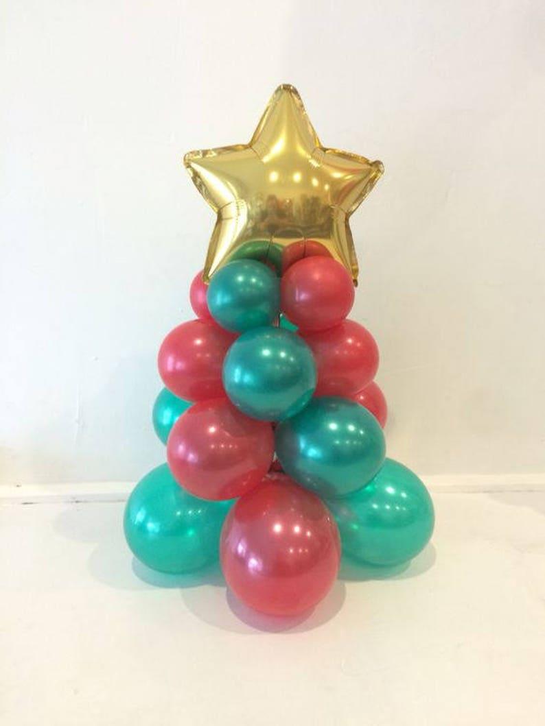 Christmas Tree Centerpiece Decoration Ez Diy Kit Needs No Etsy