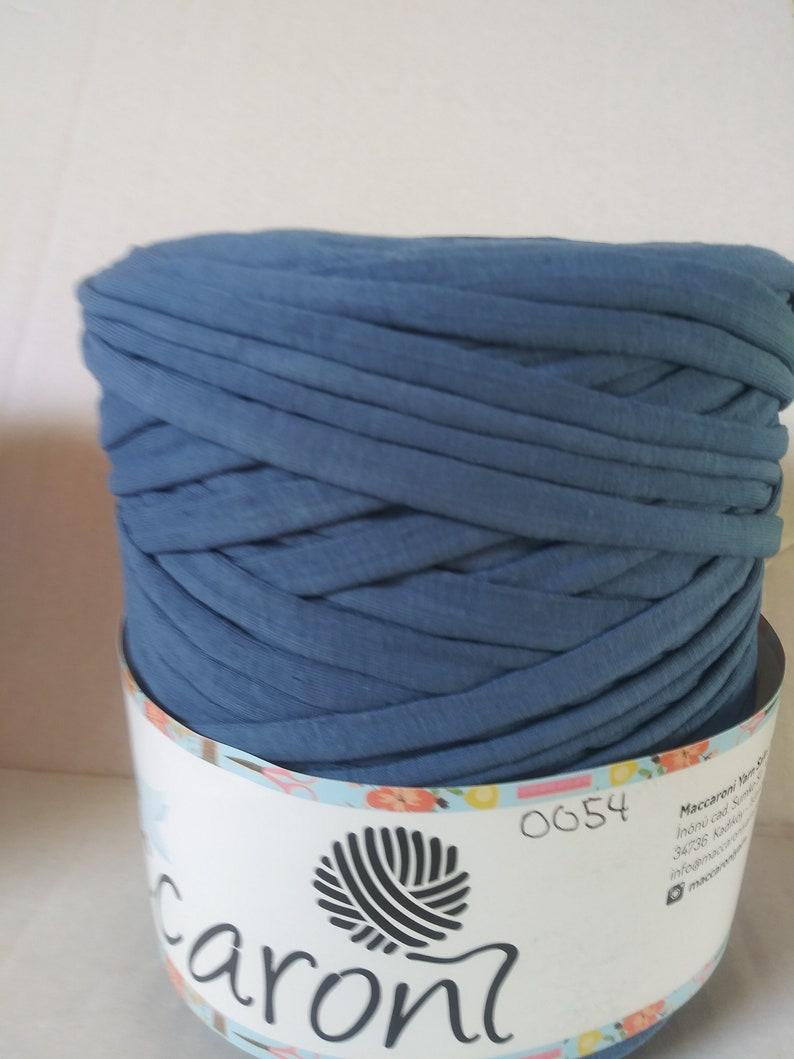 T-Shirt Yarn.100/% recycled T-shirt Yarn.T-Shirt Yarn Spaguetti Yarn.164 Yds T-Shirt Yarn Cotton T-Shirt Yarn COLOR #0054 Fabric Yarn