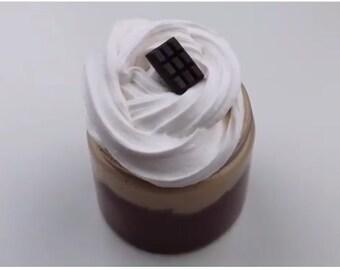 Chocolate Butterscotch cream Pie