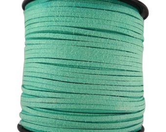 5 Metters cfd012-pale green color suede imitation suede cord