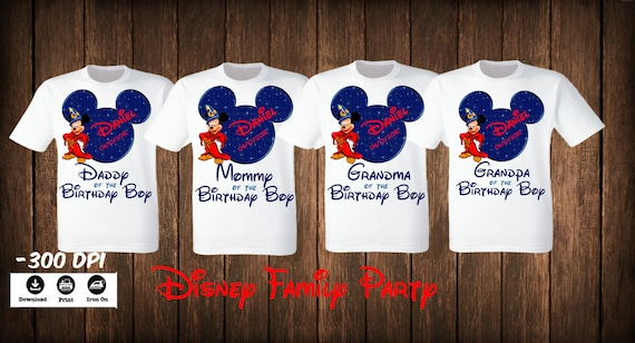 66fcb611 Disney Family Set T Shirts iron on. Mickey Minnie Mouse | Etsy