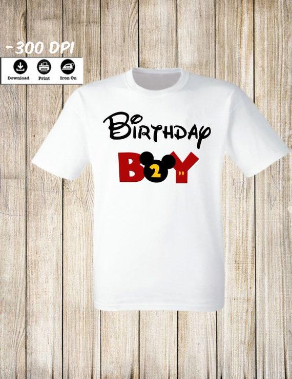 Minnie Iron on Transfer Shirt Minnie Printable Minnie Boy Birthday Shirt Minnie Iron on Transfer