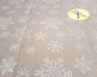 Snowflake Fabric - per 1/2m