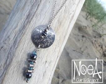 BluE DeNIM necklace sterling 925