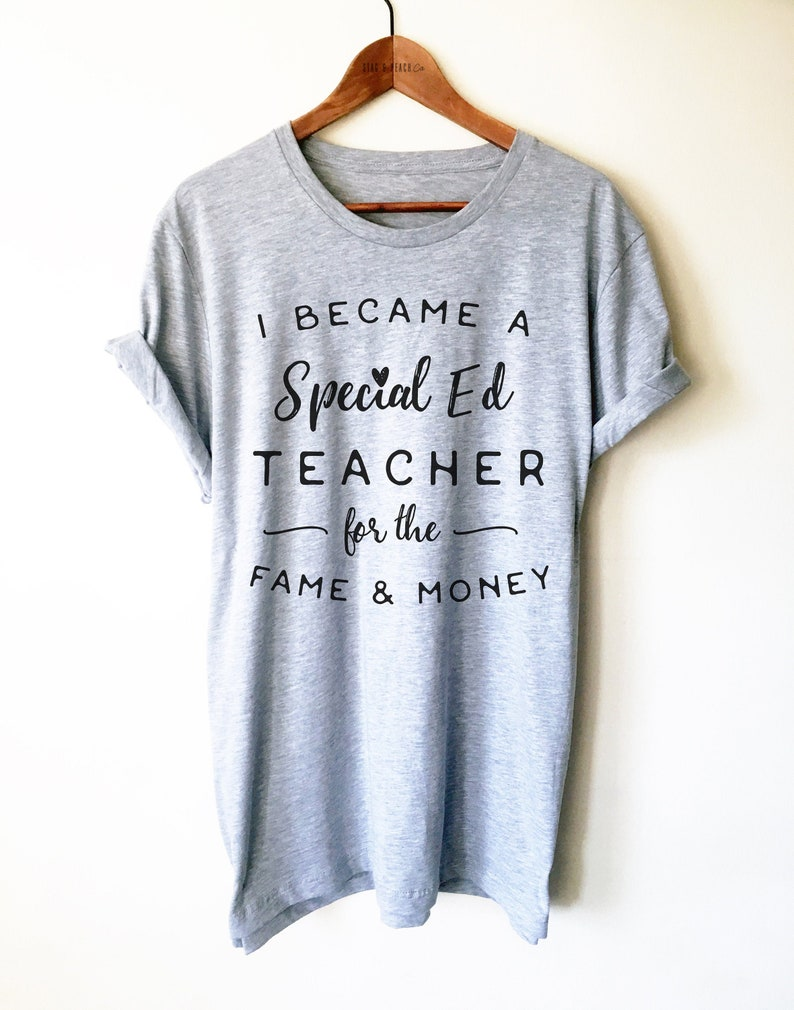 Special Education Teacher Shirt / Tank Top / Hoodie  SPED image 0