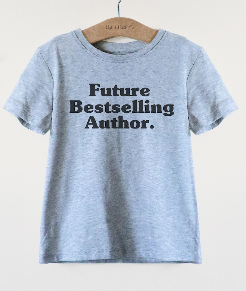 c9d940f328 Future Bestselling Author Kids Shirt Author Kids Shirt | Etsy
