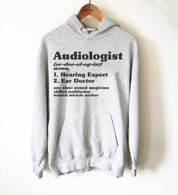 Cool My Daughter an Awesome Audiologist Tshirt Sweatshirt Design