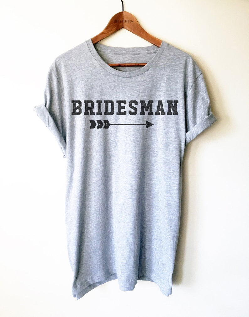 4adcdbacd8d19 Brides Man Unisex Shirt - Man Of Honor Shirt, Bridal Party Shirts,  Bridesman Shirt, GBF Shirt, Bachelorette Shirts, Wedding Party Gift