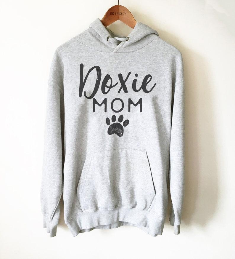 Doxie Dog Owner Unisex Hoodie  Dachshund Mom Shirt Dog Mama image 0