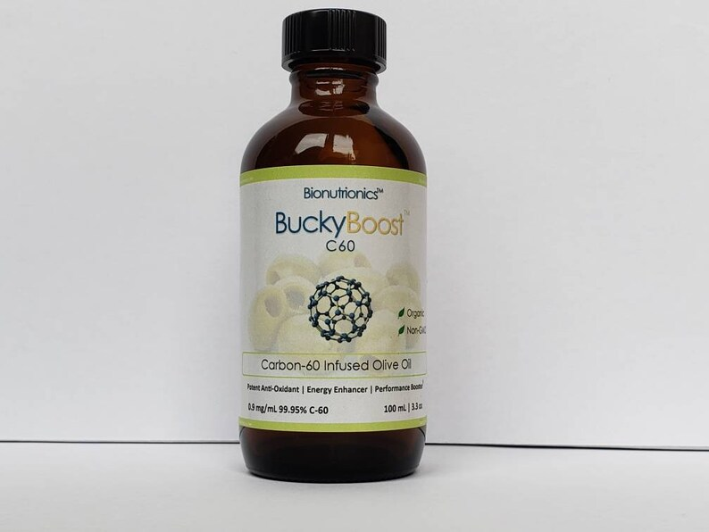 Pure Carbon60 C-60 99.5% Buckminster Fullerene BuckyBoost image 0