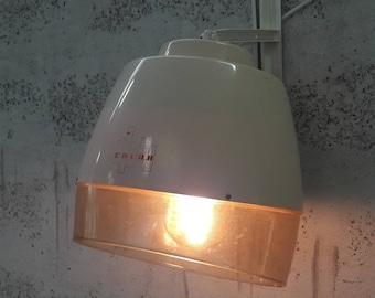 Original lamp - headpiece vintage hair dryer