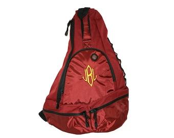 Monogram sling bag backpack
