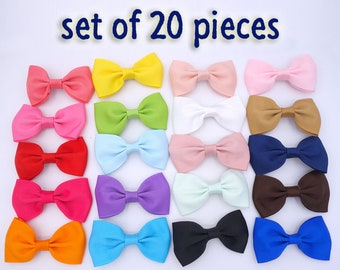 3 inch hair bows, hair clips, hair bows. toddler hair bows, bows for girls, back to school bows,girls bows