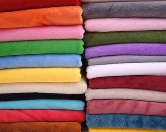 Short plush crystal super soft plush fabric For Sewing DIY Handmade Home Textile Cloth For Toys Plush Fabric-50cm*160cm
