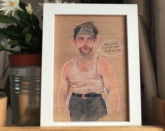 Charlie Kelly, Its always Sunny in Philadelphia, print/postcard