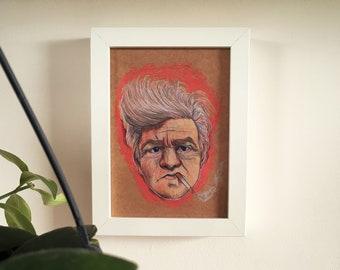 David Lynch print/postcard