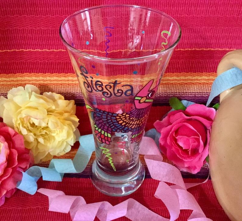 Mariachi dia de los muertos Day of the dead beer glasses Mexican wedding 5 de mayo beer glasses Fiesta Mexicana Mexican decoration
