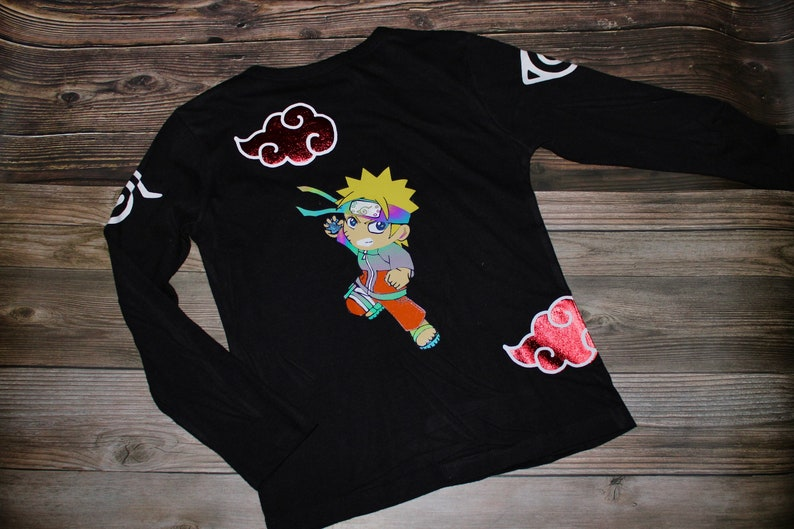 Ninja Anime Themed Reflective Shirt