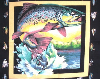Fabric Patchwork Panel sticker salmon n 1 coupon