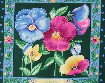 Patchwork Panel thoughts n 1 tile fabric coupon