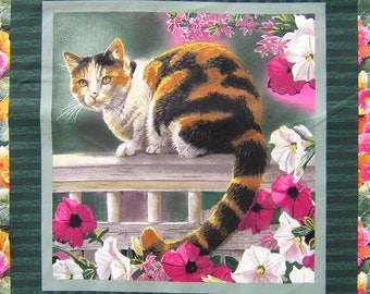 Patchwork Panel sticker PUSSY ISABELLE fabric coupon