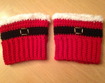 Christmas Boot Cuffs