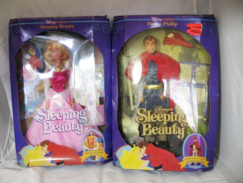Disneys Original Classic PRINCE PHILLIP doll from Sleeping Beauty Mattel 1991